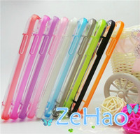 Wholesale Glow in the Dark Clear Transparent Plastic Cell Phone Case for HTC One M7 Hot Selling Products