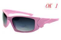 Acrylic scalpel - Sports fashion sunglasses riding glasses Scalpel sunglass