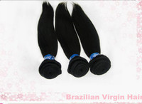 Brazilian Hair Straight Under $200 Brazilian Virgin Hair Weaves 6A Silk Straight Human Hair Extensions Color 1# 1b# 2# 4# 3 Bundles 1Lot Hair Weft No Tangling Straight Hair