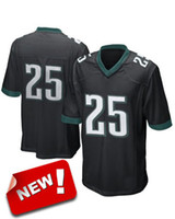 Wholesale LeSean McCoy Black Game Jerseys Mens High Quality Discount Profession Sports Jerseys New Style Football Wears for Sale