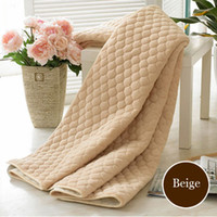 Wholesale New Style Super Soft Coral Fleece Cushion Bed Sheet Mattress Cover Belt Elastic Strap Slip Resistant Folding Bed Pad Tatami