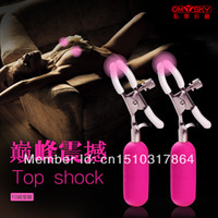 Female G-Spot Vibrators Jelly Free Shipping 10 Frequency Vibrating Nipple Clamps,Egg Vibrator,Masturbation Women Breast Massager,Sex Toys