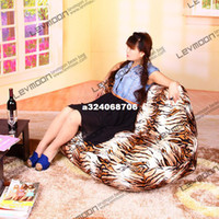 wood Living Room Furniture Living Room Chair FREE SHIPPING leopard print living room bean bag chair bean bag cover fabric sofa chair velvet love seats bean bag furniture