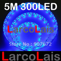 Wholesale Waterproof V M LED Flexible Strip Lights Light LED for Christmas Holiday Wedding Party Home Garden Blue