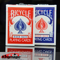 Wholesale Bicycle bicycle playing cards new arrival old version single license plate magic props magic tricks