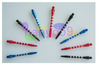 Wholesale free ship aluminum dart shaft darts accessories anti break durable senior dart pole various colors