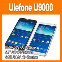 5.7 1G 1280x720 Ulefone U9000 N9000 Note 3 MTK6589 Quad Core 1.2GHz Android 4.2 Smart Phone 5.7 Inch HD Screen 13.0MP Camera 8GB 3G GPS Bluetooth (0301220)