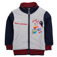 Wholesale Gray Nova hot George Peppa pig hoodies baby sweatershirts Kids cartoon clothing fleece winter boys clothes children sweatshirts