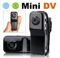 Wholesale 5pcs New MD80 Bracket Clip Black Sports Video Camera hidden camera Mini DVR Camera hd amp Mini DV Drop Ship With Tracking Number