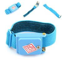 Wholesale PC Cordless Wireless Anti Static Wrist Strap NEW LE