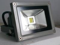 Wholesale Hot sales Long lifetime High Power LED floodlight Outdoor lighting IP65 W silver AC85 V aluminum