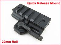 Wholesale Quick Release QD Side Weaver Rail mm Extension Base Mount