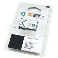 Wholesale pc NP BX1 NPBX1 BX1 digital Camera Battery for SON RX1 RX100 HX300 WX300 AS15 DSC RX100