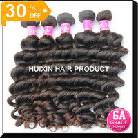 Body Wave eurasian hair - Eurasian hair weft Top quality Natural wave bundles Mix Length A