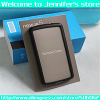 Wholesale 100pcs HOT selling bumper case for Google Nexus LG E980 Colors Free Shiping