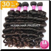 Russian hair hair products wholesale - HUIXIN HAIR PRODUCTS Indian Virgin hair natural wave top quality human hair bundle A