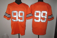 Football Men Short Orange #99 Paul Kruger American Football Jerseys 2014 2014 Season Well Made Mens Orange Elite Jersey Comfy Breathable Discount Jerseys