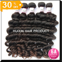 Wholesale Best quality virgin Peruvian Russian Malaysian Brazilian Eurasian hair Natural wave bundle Hair A