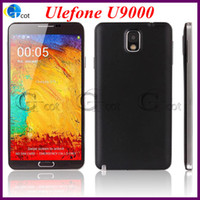Cheap Ulefone U9000 n9000 MTK6589 1.2GHz Quad Core android phone 5.7Inch HD Screen 1GB RAM 8GB ROM Android 4.2 3G GPS smartphone with free case