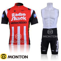 Wholesale cycling jersey set Cycling Jacket Compressed Wear RadioShank team cycling Jersey and Pants Bib Pants C00S