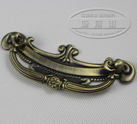 other other other European classic antique garden books cooler cabinet door handle Chinese furniture nightstand drawer dark handle