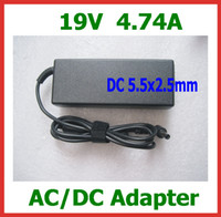 Lenovo asus laptop ac adapter - 19V A AC DC Adapter for Lenovo Asus Toshiba N102 Laptop Power Supply DC mm Laptop Charger with AC Cable
