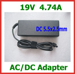 19V 4.74A AC DC Adapter for Lenovo Asus Toshiba N102 Laptop Power Supply DC 5.5*2.5mm Laptop Charger with AC Cable