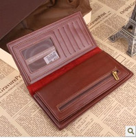 Wholesale Best Wallets Brand Name Genuine Leather Wallets Gent Leather Purses Hot Fashion