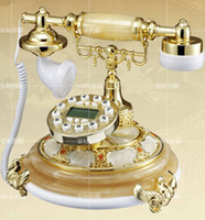 Wholesale Polyphonic music pedestal telephone antique telephones European retro phone high grade telephone