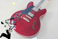 Hollow Body left hand electric guitar - Left Handed Guitar Custom Shop Electric Guitars Red electric guitar