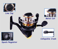 Cheap Wholesale-1 PCS NW2000 Metal Fishing Reels High Speed 5.2 : 1 Ball Bearings Fishing Spinning Reel+ Free Shipping