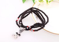 Wholesale Min order new European and American retro classic good luck necklace beads stretch bracelet women do