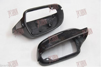 audi carbon - Replacement Carbon Fiber Mirror Covers for Audi A5 Audi A4