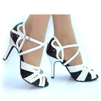 Wholesale The new women s high heeled shoes Latin dance Latin dancing women wear ballroom shoes soft bottom shoes Special Place