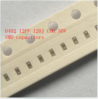 Wholesale 0402 PF J COG V SMD capacitors V Multilayer chip ceramic capacitor