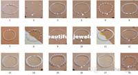 Wholesale Factory Direct mixed style silver bracelet Fit Pendant Charm Bracelet