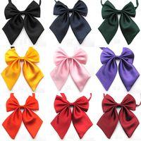 Wholesale solid cravat ascot dress shirt brand new adult neckwear colors fashion accessory
