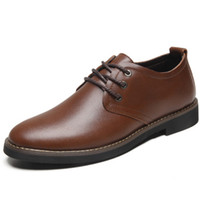 Wholesale Spring and autumn new men s shoes men s genuine leather padded leather shoes business casual shoes shoes men