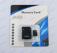 Wholesale 64GB Micro Sd Class memory card SDHC Cards with Adapter for mobile phone retail package New year