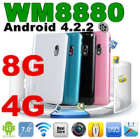 Wholesale JW Multi color WM8880 Q88 Inch Dual Core WM A20 Tablet PC quot Jelly bean Android GB G ROM HDMI WIFI Dual Camera Built in flash