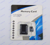 Wholesale 64gb Android ico Micro sd card Class memory card SDHC Cards with Adapter For smartphone computer tablet mp3 mp4 retail package