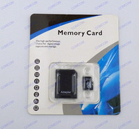 Wholesale 64gb Android ico Micro sd card Class memory card SDHC Cards with Adapter For smartphone tablet mp3 mp4player retail package U055C