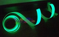 Wholesale 4cm M full luminous film tape slip resistant stage decoration fire emergency glow tape fluorescence warning tape stairs full luminous line