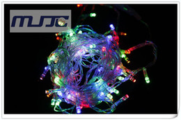 RGB Colorful Changing LED Christmas Light String 10M 100 LEDs 110V 220V AC with 8 Functions Controller