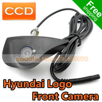 Wholesale Hyundai Car Front View Logo Embeded Camera with CCD Waterproof IP67 Wide Degree DropShipping