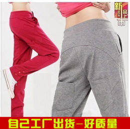 Wholesale spring trousers pants slim legging skinny casual