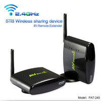 Wholesale PAT G Digital STB wireless sharing device Wireless A V transmitter amp receiver kit