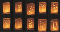 Christmas decorative bags - Fashion Hot Wedding decoration DIY manual paper Lantern Festival decoration candle candle bag with candle