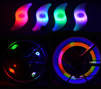 Wholesale Bike Bicycle Cycling Wheel Spoke Tire Wire Tyre Bright LED Light Lamp Bike Lights