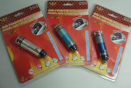 Wholesale Mini Car Auto Fresh Freshener Air Purifier Oxygen Bar Ionizer